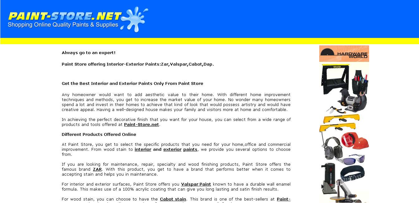 Paint-Store.net (eCommerce)
