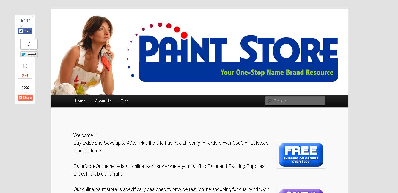 PaintStoreOnline.net (Blog)
