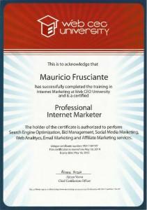 Professional Internet Marketer-Mauricio Frusciante-Miami-Aventura