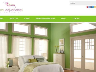 E-Commerce Web Design-Beds Adjustable-Miami-FL