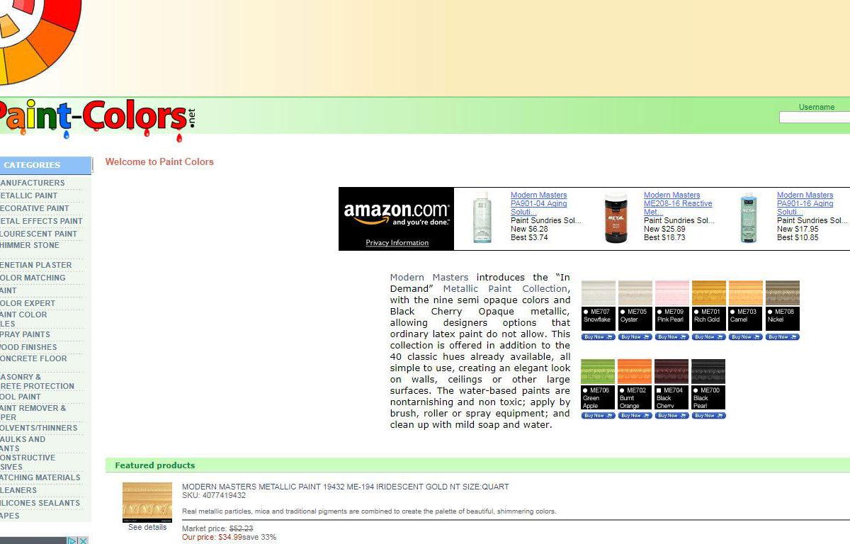 e-Commerce-PaintColors-Miami-Fl
