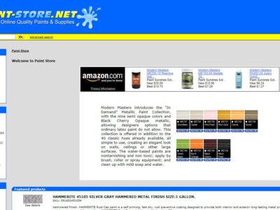 e-Commerce-PaintStore-Miami-Fl