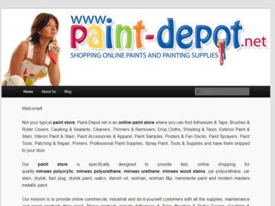 Web Design-PaintDepot-Miami-Fl