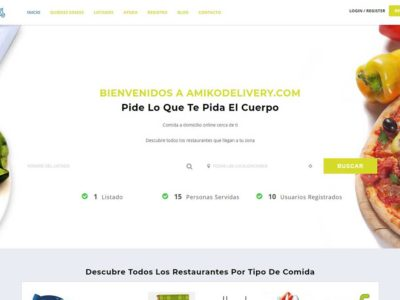 Ecommerce Website-AmikoDelivery-Costa Rica
