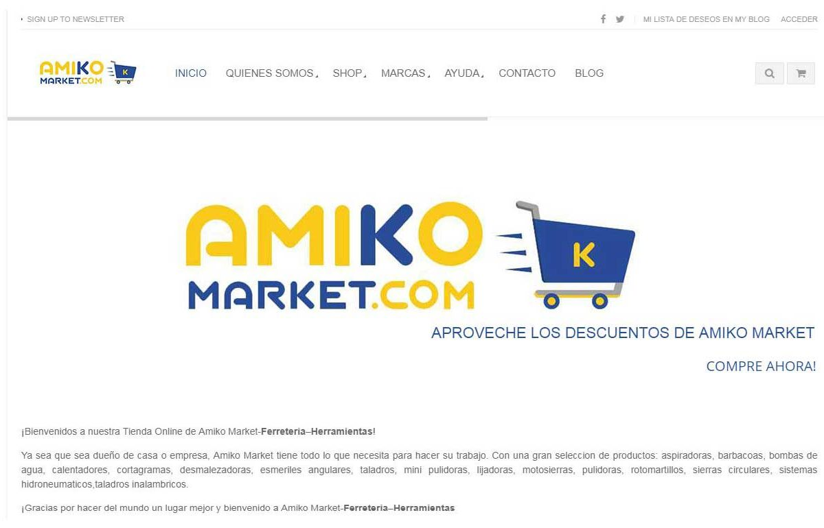 Ecommerce Website-AmikoMarket-Costa Rica