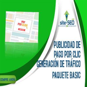 Publicidad Pago Por Clic-Generacion Trafico-Paquete Basic