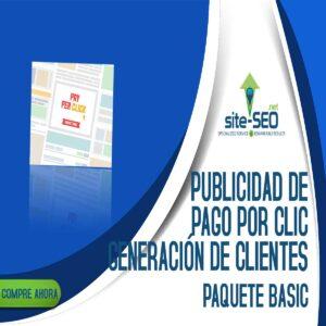 Publicidad De Pago Por Clic-Generacion De Clientes-Paquete Basic