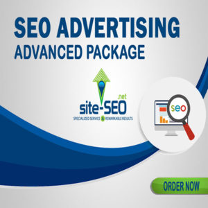 SEO Advertising Advanced Package-Order Now