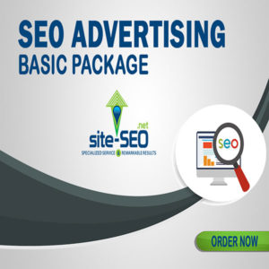 SEO Advertising Basic Package-Order Now