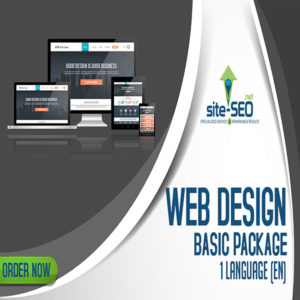 Web Design Basic Package-Order Now and Save up to 30%