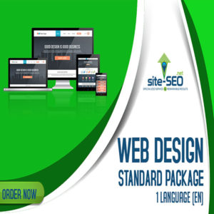 Web Design Standard Package-Order Now and Save up to 30%