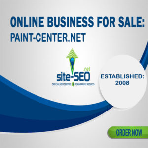 Online Business For Sale-Paint_Center