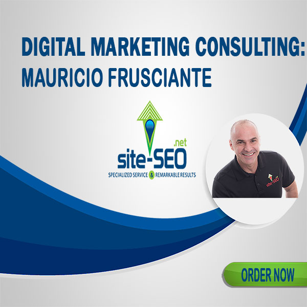Looking To Increase Revenues? Digital Marketing Consulting by Mauricio Frusciante. Get Yours Now And Reach More Customers.