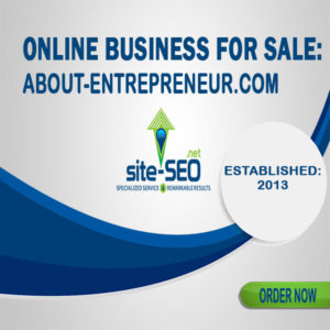 Online Business For Sale-About_Entrepreneur