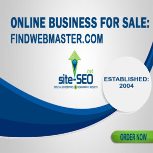 Online Business For Sale-FindWebmaster