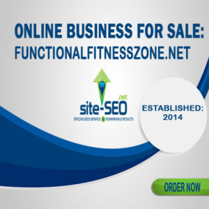 Online Business For Sale-FunctionalFitnessZone