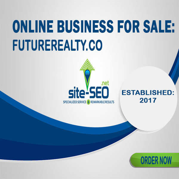 Online Business For Sale-FutureRealty