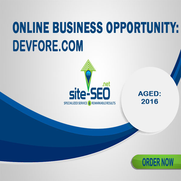 Online Business Opportunity-DevFore