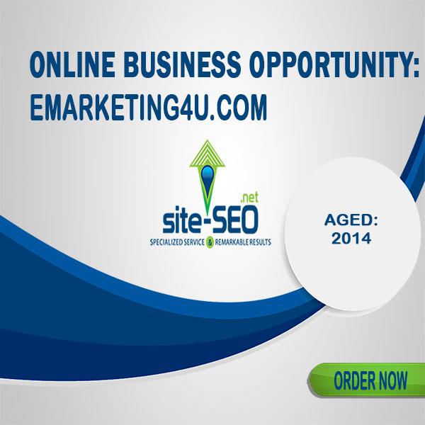Online Business Opportunity-Emarketing4u
