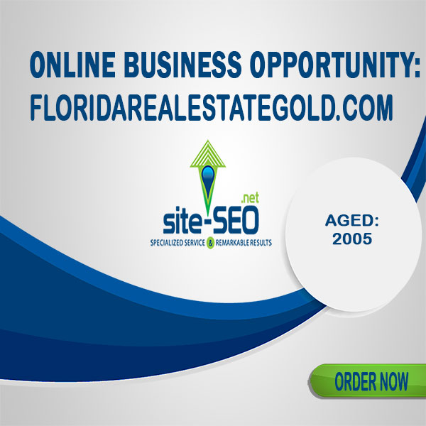 Online Business Opportunity-FloridaRealEstateGold