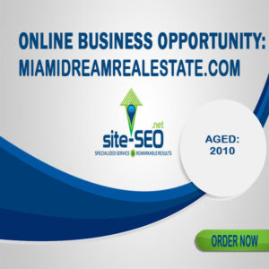 Online Business Opportunity-MiamiDreamRealEstate