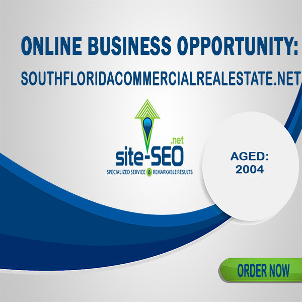 Online Business Opportunity-SouthFloridaCommercialRealEstate