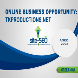 Online Business Opportunity-TkProductions