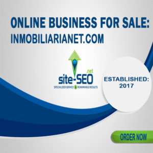 Online Business For Sale-Inmobiliarianet