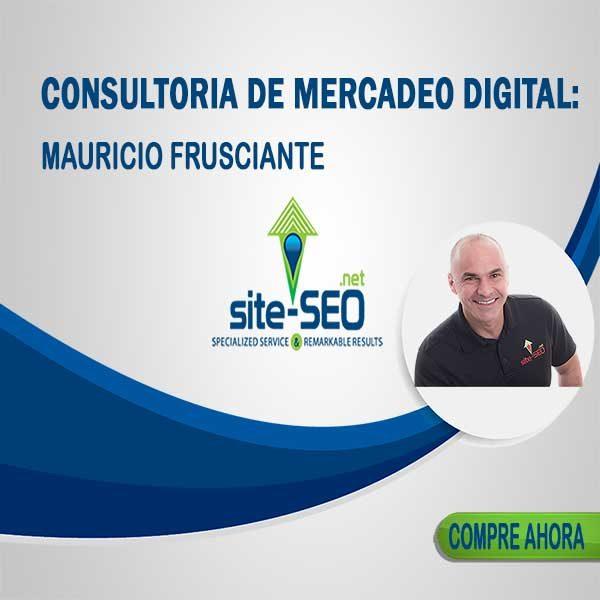 Buscando Incrementar Tus Ventas? Consultoria De Mercadeo Digital Por Mauricio Frusciante. Compre Ahora Y Alcance Mas Clientes.
