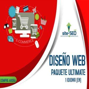 Diseño Web-Paquete Ultimate-Comercio Electronico