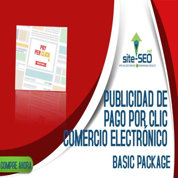 Publicidad De Pago Por Clic-Comercio Electronico-Paquete Basic