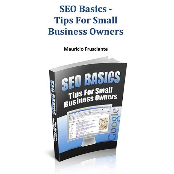 SEO Basics-Tips For Small Business Owners By Mauricio Frusciante